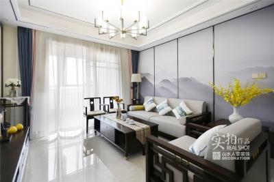 118平三室两厅红霞雅苑新中式