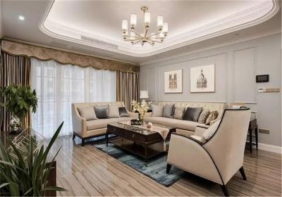 观澜太子湖108平三居室现代风格装饰效果图