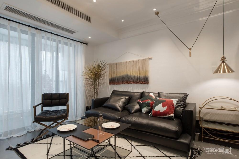 现代简约风两居室88㎡商务