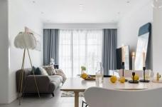 89㎡舒适北欧2室2厅,轻盈优雅演绎质感生活图_2