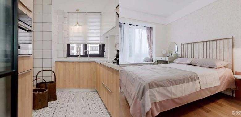 104㎡日式装修,清新脱俗的宜家风,把日剧里的房间搬进家!