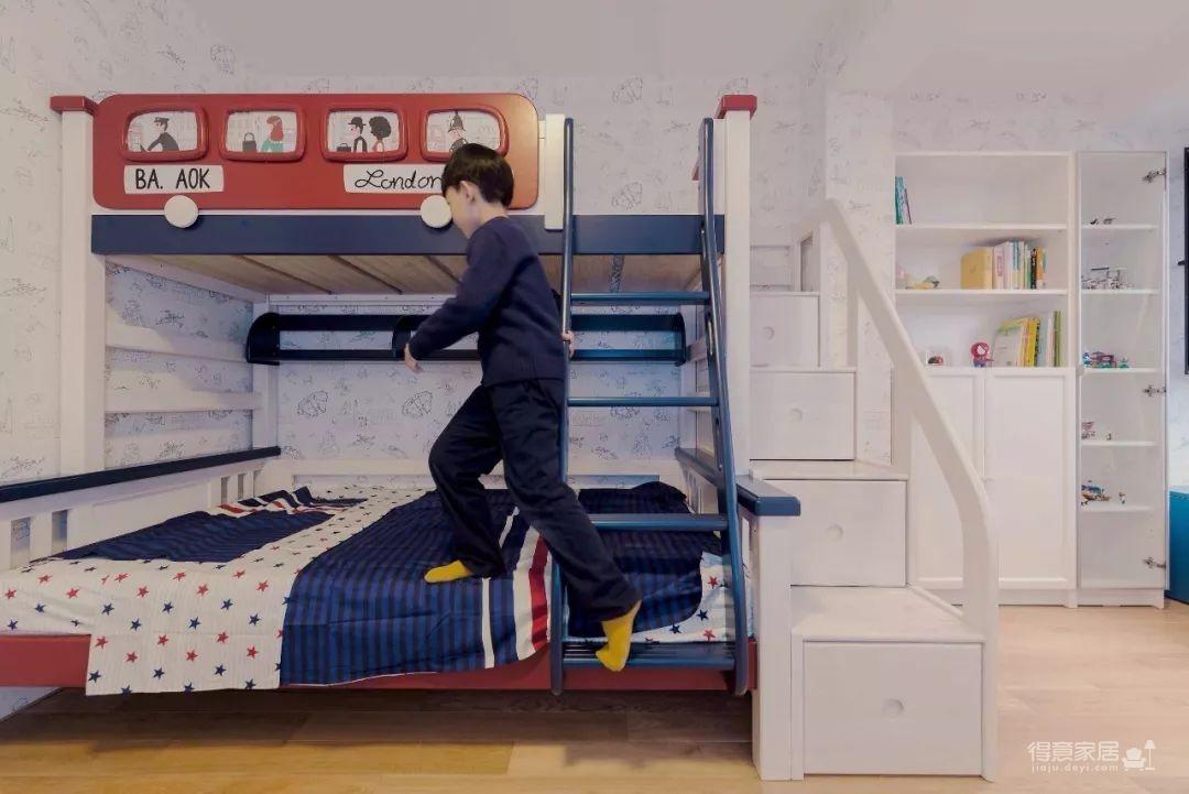 104㎡日式装修,清新脱俗的宜家风,把日剧里的房间搬进家!图_6