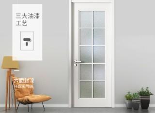 简欧卫生间门家用玻璃门 BL002混油