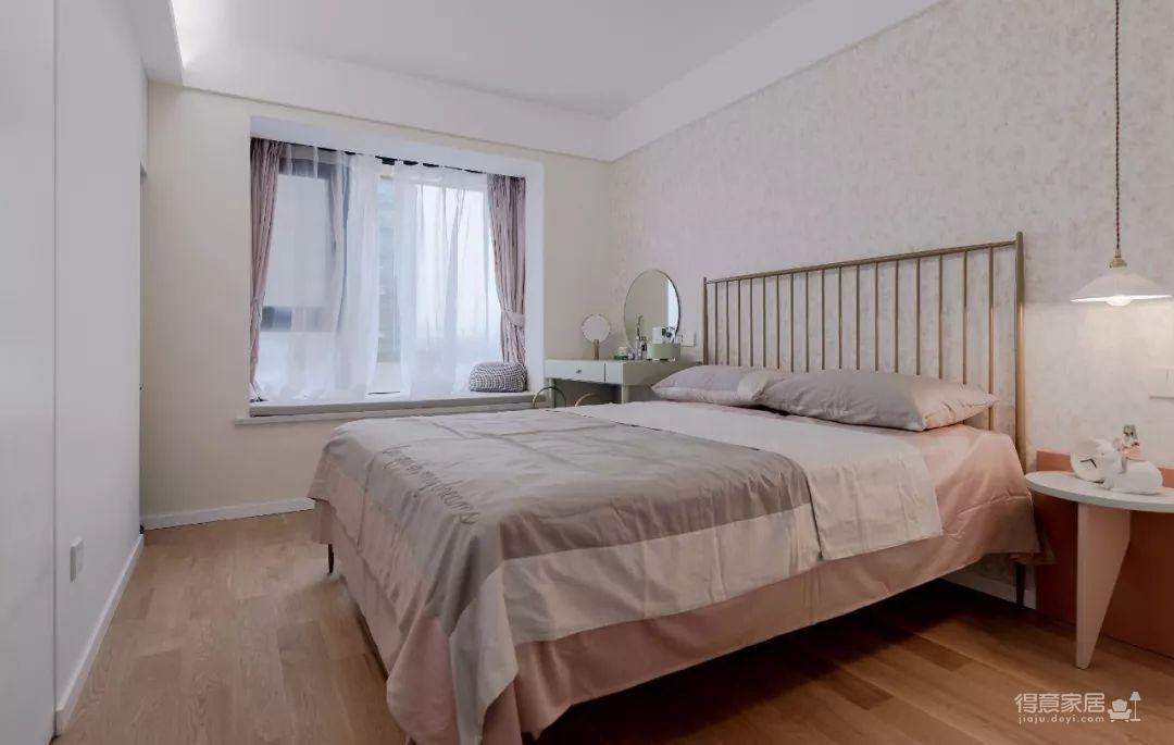 104㎡日式装修,清新脱俗的宜家风,把日剧里的房间搬进家!图_4