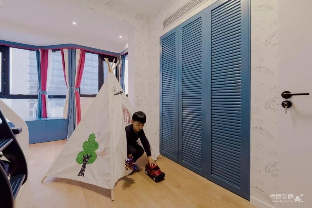 104㎡日式装修,清新脱俗的宜家风,把日剧里的房间搬进家!图_7