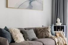 89㎡舒适北欧2室2厅,轻盈优雅演绎质感生活图_5