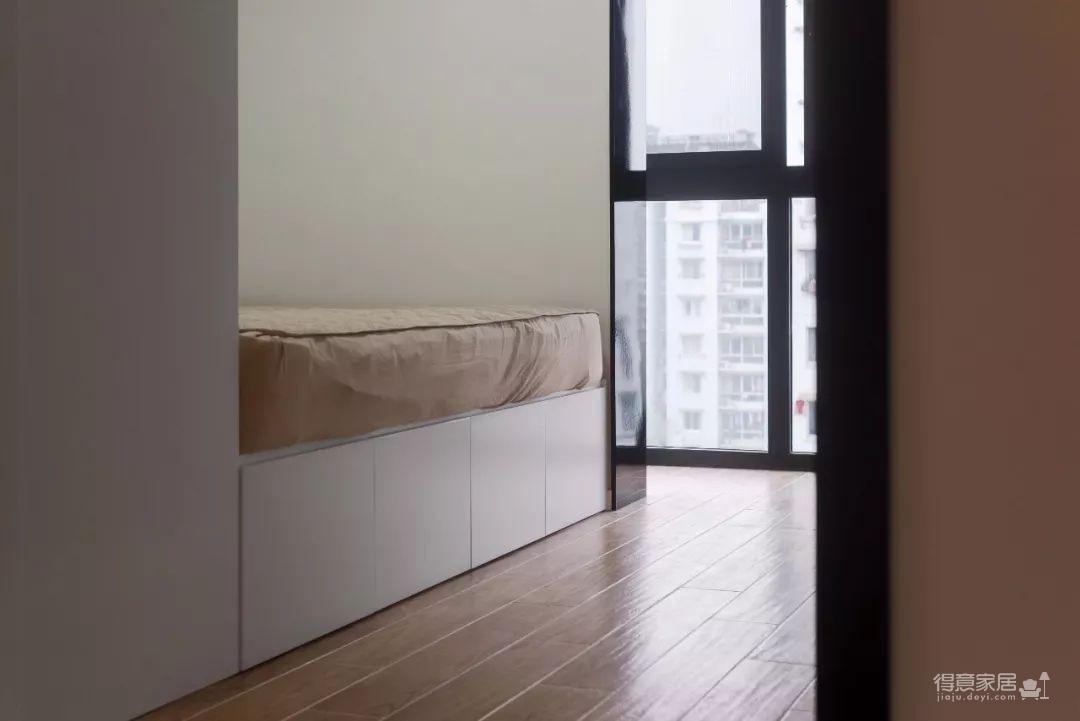104㎡日式装修,清新脱俗的宜家风,把日剧里的房间搬进家!图_8