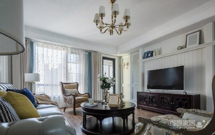 现代美式风格,精致优雅的造型,温馨舒适的软装,很不错的设计