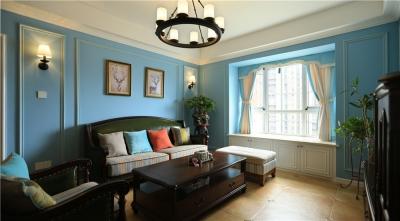 110平美林青城三室两厅简美风