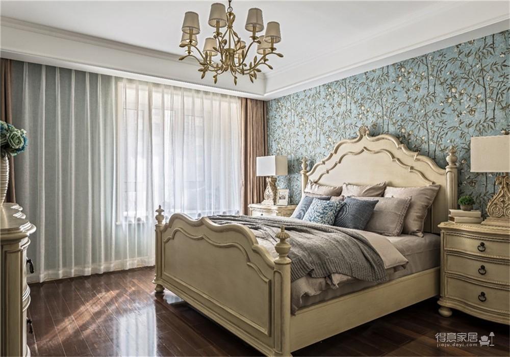 中核时代广场154平四居室美式风格装饰效果图图_4