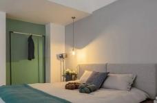 60㎡现代轻奢小公寓,一两人住小复式,日子精致好情趣图_6