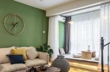 60㎡现代轻奢小公寓,一两人住小复式,日子精致好情趣图_3