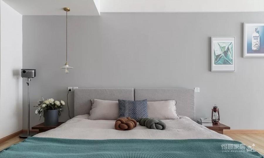 60㎡现代轻奢小公寓,一两人住小复式,日子精致好情趣图_5