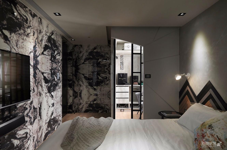 现代超个性话风格两居室