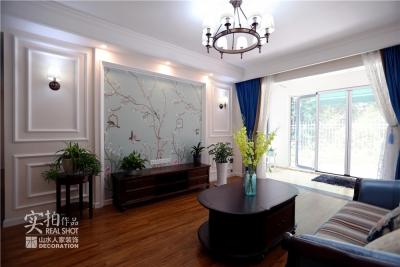 保利海上五月花三室两厅120平简美