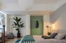 60㎡现代轻奢小公寓,一两人住小复式,日子精致好情趣图_4