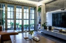 现代简约风格家居装修,充满质感的空间搭配,很酷! 图_3