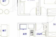 98㎡简约北欧风三居室装修案例,自然清新的舒适之家! 图_2