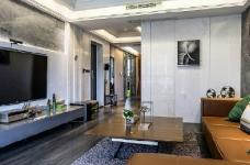 现代简约风格家居装修,充满质感的空间搭配,很酷! 图_1