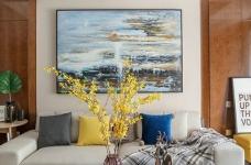 江樾云著117平四居室北欧风格装饰效果图图_2