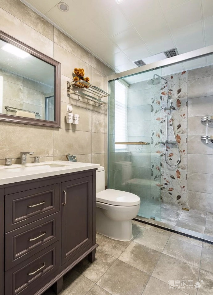 98㎡简约北欧风三居室装修案例,自然清新的舒适之家! 图_9