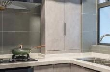 98㎡简约北欧风三居室装修案例,自然清新的舒适之家! 图_8