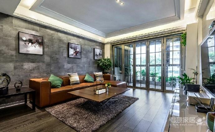 现代简约风格家居装修,充满质感的空间搭配,很酷! 图_2