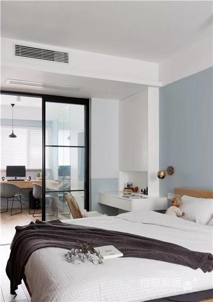 120㎡北欧风格大户型,沙发背景墙+榻榻米房超赞