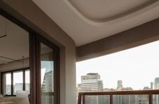 42㎡ 的简约公寓,一道木墙分割了多功能空间图_14