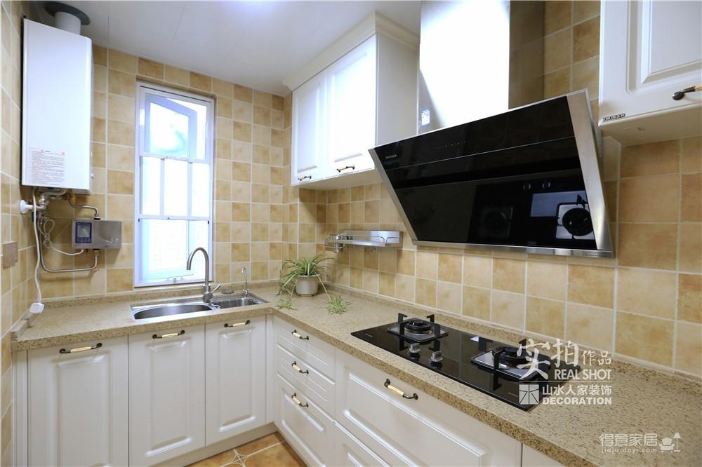金地格林东郡三室两厅151平美式