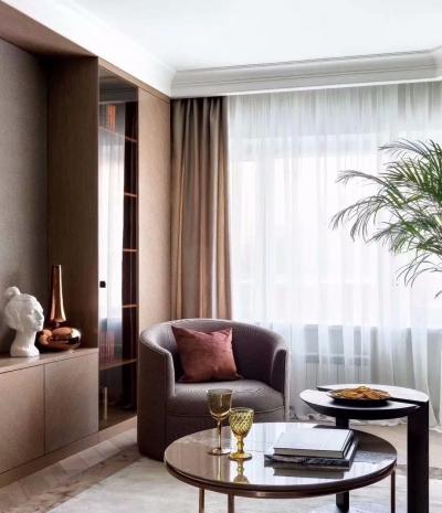 丝绒经典两室一厅高级装修