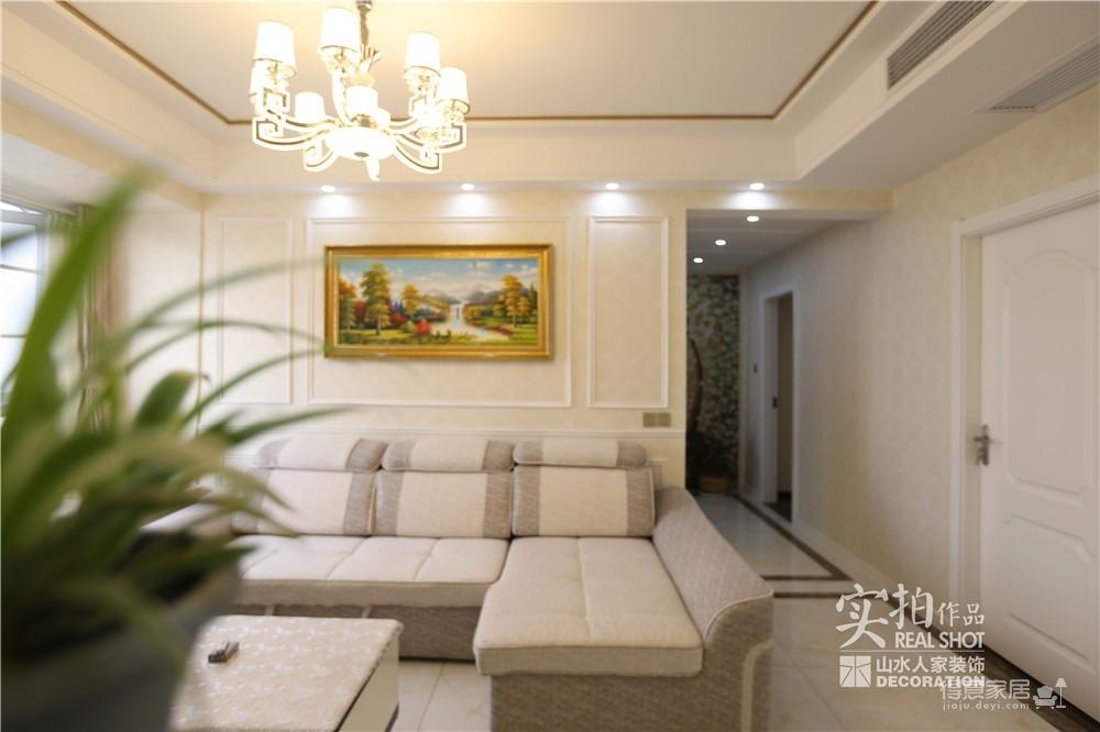清江锦城三室两厅110平简欧