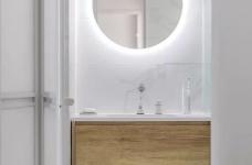 90㎡北欧原木风,原木色+白色,简约美观!全房收纳力好高!图_14