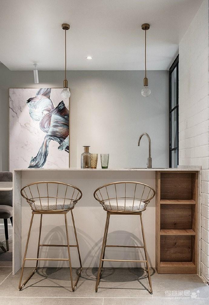 现代轻奢风三居室,高级灰质感,精致有格调的家