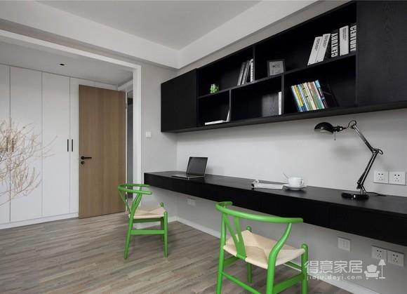 120平【简约】三室两厅现代简约风图_5