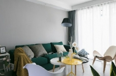 92㎡灰色调北欧风,这样的色彩搭配使得空间感特别优雅有格调!图_2