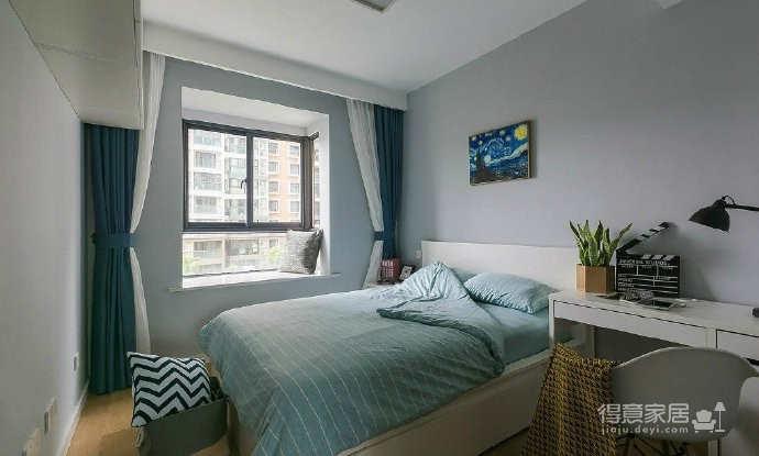 92㎡灰色调北欧风,这样的色彩搭配使得空间感特别优雅有格调!图_5