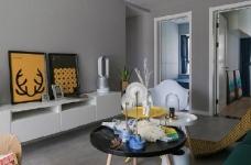 92㎡灰色调北欧风,这样的色彩搭配使得空间感特别优雅有格调!图_3