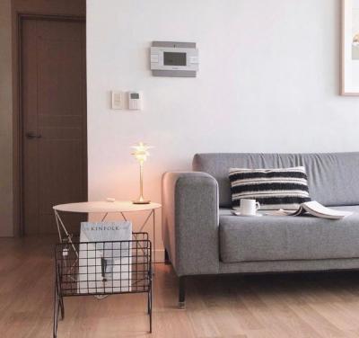 一个简单干净的家,简约线条感+原木色系美翻天!