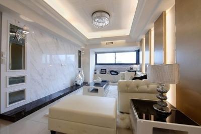 【简约】140平现代简约风格婚房设计