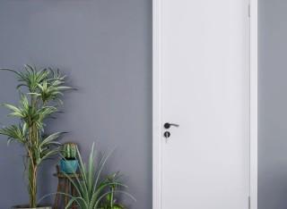卧室门家用室内门卫生间门@001瓷白色