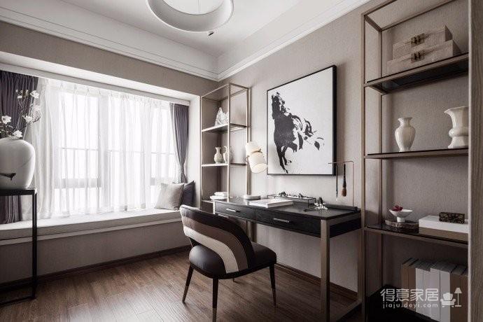 93㎡新中式风格家居,温婉秀雅的东方情怀,不仅反映出现代人追求简单生活的居住要求,更迎和了对家居设计风格的内敛质朴