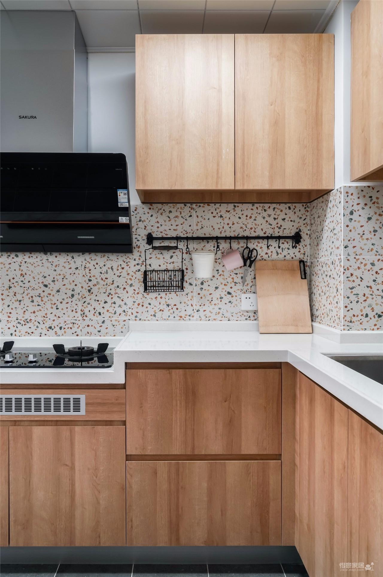 94㎡舒适北欧风格装修,温馨而实用的乐活小筑!图_10