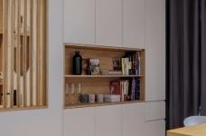 94㎡舒适北欧风格装修,温馨而实用的乐活小筑!图_12
