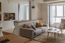 94㎡舒适北欧风格装修,温馨而实用的乐活小筑!图_1