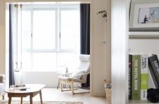94㎡舒适北欧风格装修,温馨而实用的乐活小筑!图_2