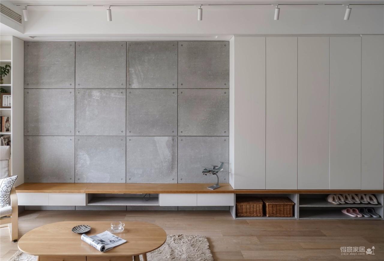 94㎡舒适北欧风格装修,温馨而实用的乐活小筑!图_6