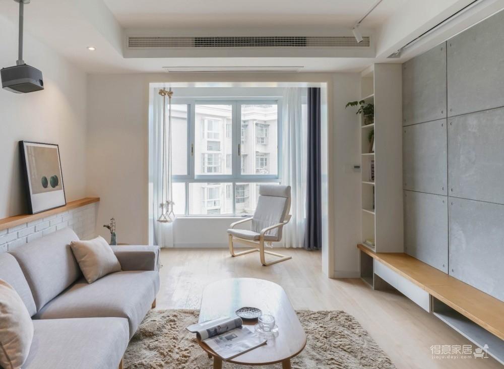94㎡舒适北欧风格装修,温馨而实用的乐活小筑!图_4
