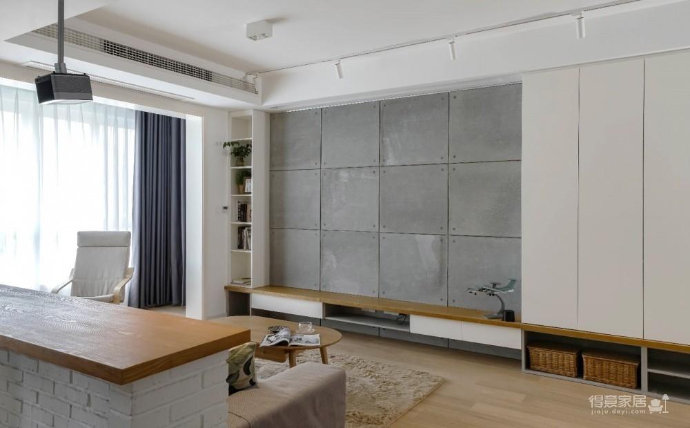 94㎡舒适北欧风格装修,温馨而实用的乐活小筑!图_5