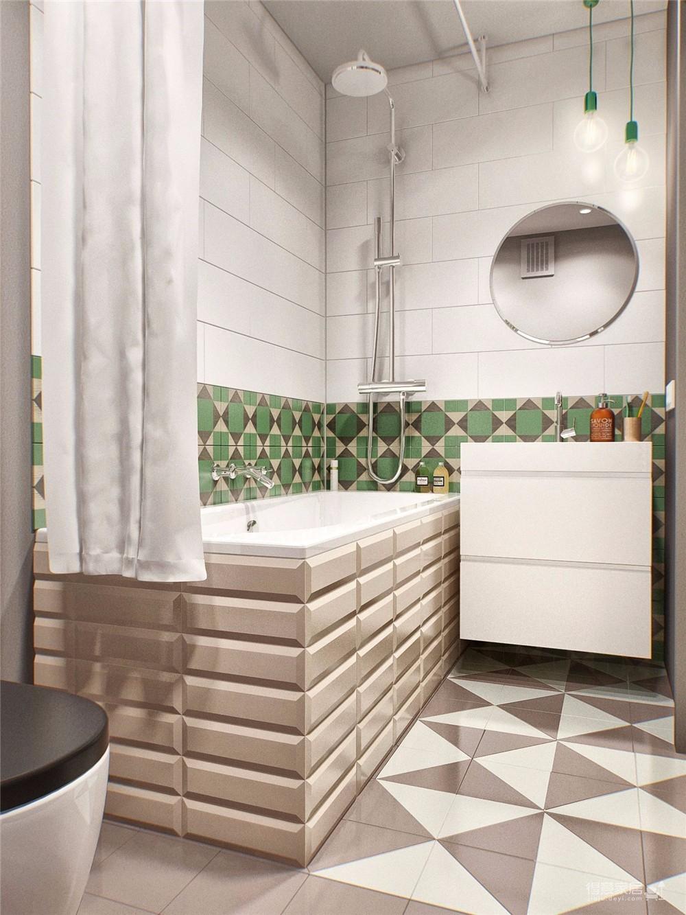 金茂国际公寓45平北欧风图_10